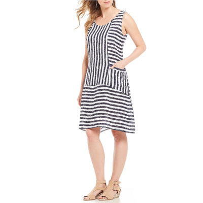 M Made In Italy - M Made in Italy Striped Dress - Women - 19/292I-1