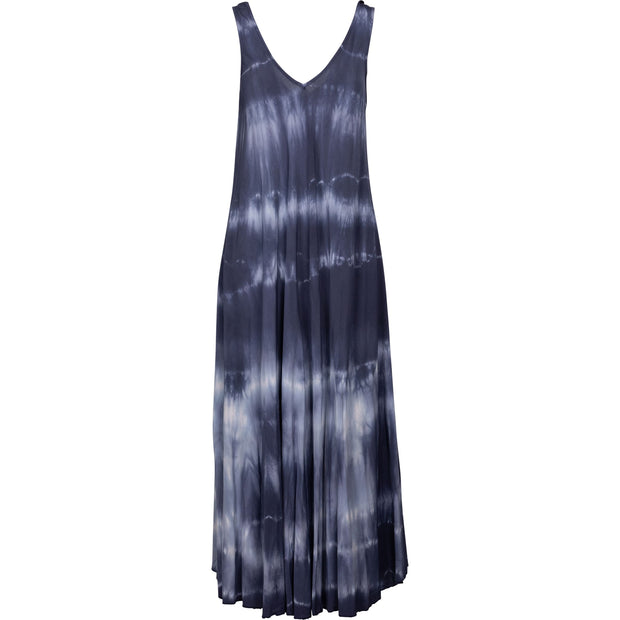 M Made In Italy - Tie Dye V Neck Maxi Dress - Dress - 19/1909M-1