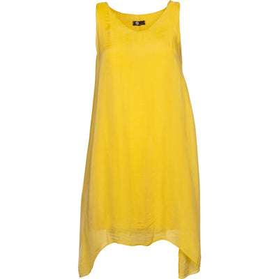 M Made In Italy - Tunic Dress Yellow - Dress