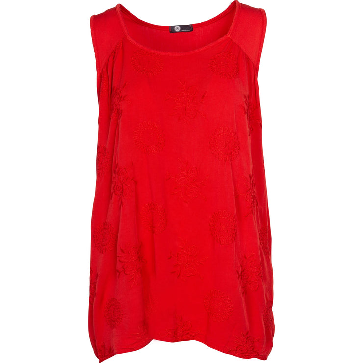M Made In Italy - Woven Viscose Tank - Top - 15/9320M-1