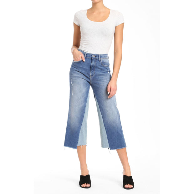 Mavi Jeans - 25679 Elliott Wide Leg Mavi Jeans In Mid Shadow - Jeans