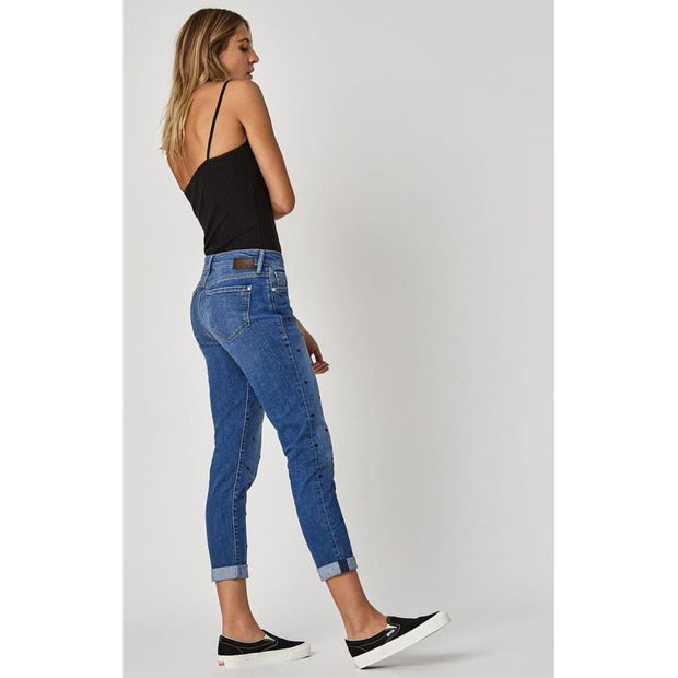 Mavi Jeans - Ada Dot Boyfriend Indigo Stretch - Pants - 1020528123