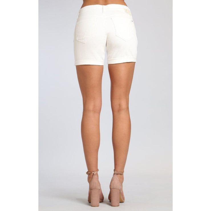 Mavi Jeans - Pixie White Ripped Nolita - Pants - 1437025583-1