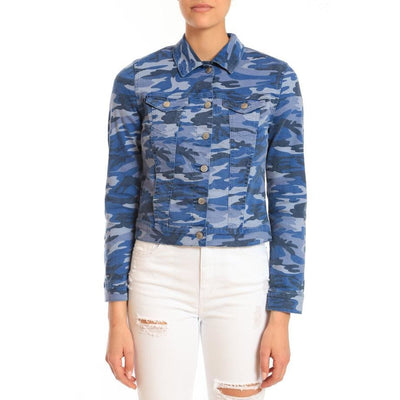 Mavi Jeans - Mavi Samantha Blue Camo Stretch - Jacket - 1130229361
