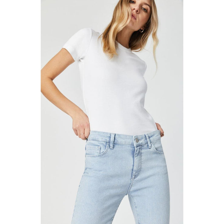 Mavi Jeans - Tess Bleached Stripe Stretch - Pants