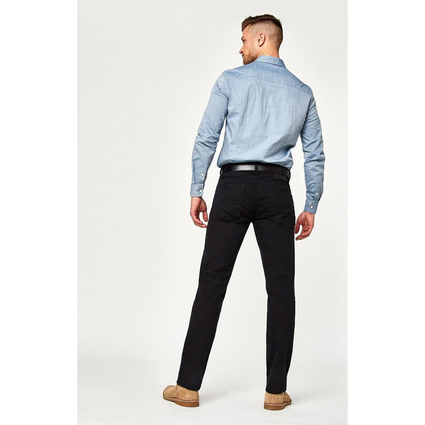 Mavi Jeans - Zach Straight Leg Black Williamsburg - Men - 0045324021