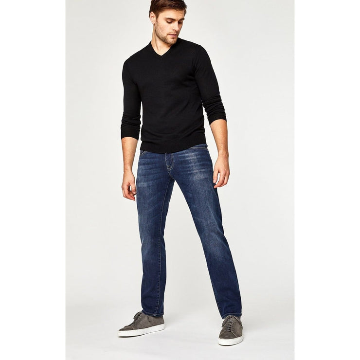 Mavi Jeans - Zach Straight Leg Dark Brushed Williamsburg - Men - 0045314011