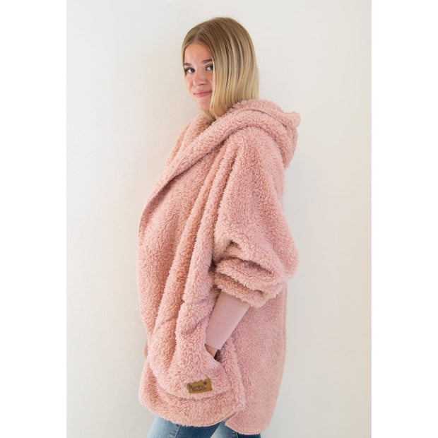 Nordic Beach - Blush Wine Body Wrap - Cardigan