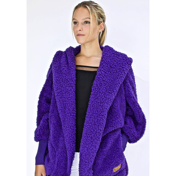 Nordic Beach - Exotic Violet Body Wrap - Cardigan