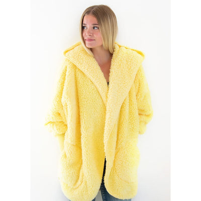 Nordic Beach - Lemon Drop Body Wrap - Cardigan