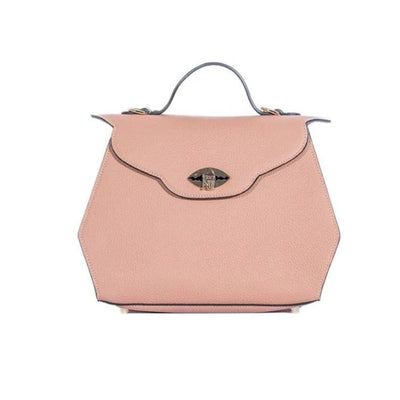 Nuciano - Aurene Handbag In Blush Pebble Grain Leather - Accessories