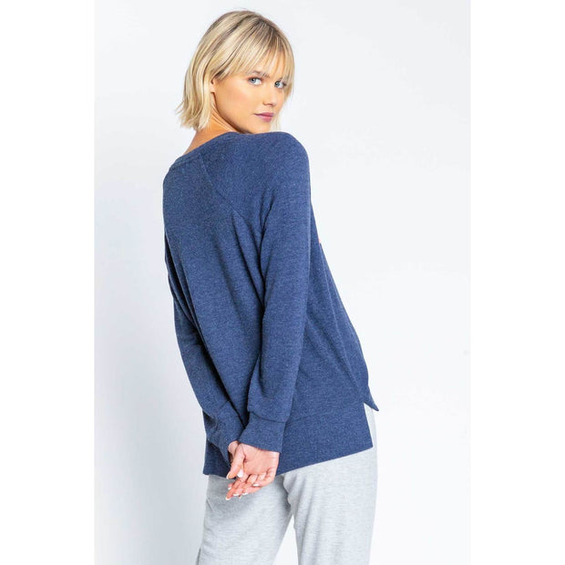 PJ Salvage - Iconic Lounge Long Sleeve Top - Loungewear
