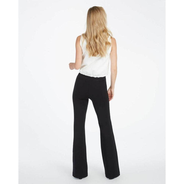 Spanx - 20252R Hi-Rise Ponte Knit Flare Pants by Spanx - Pants