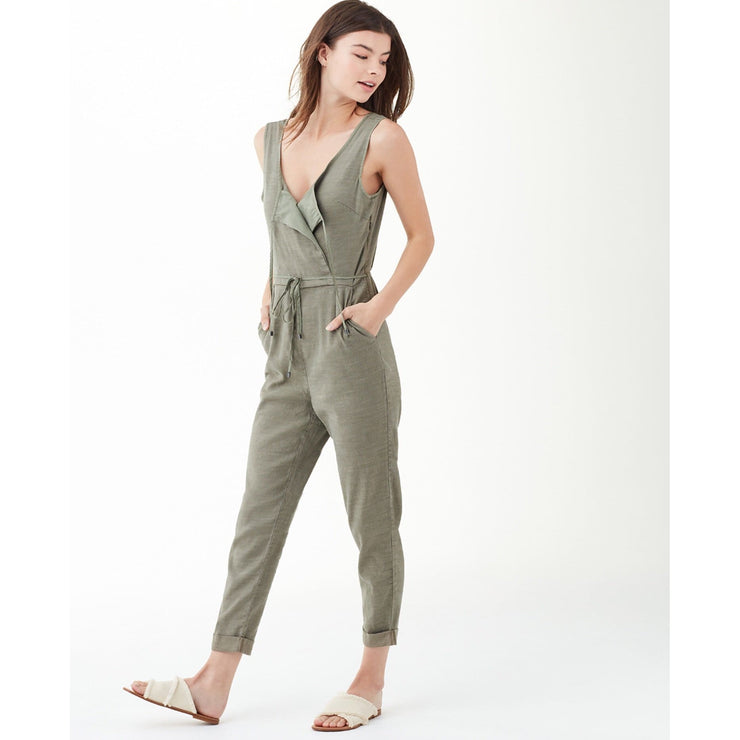 Splendid - Splendid Arabesque Surplice Jumpsuit - Women - SR12008