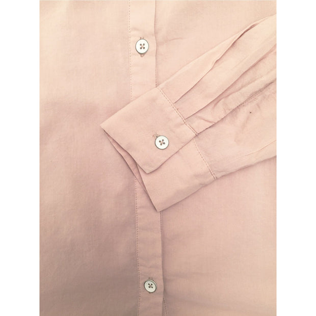 Splendid - Splendid Cotton Voile Button Down in Vintage Pink Beige - Women - ST11935