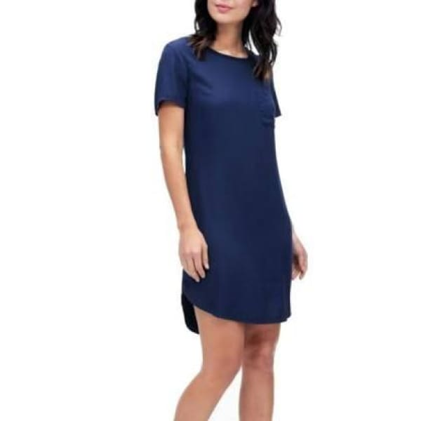 Splendid - Splendid Navy T-shirt Dress - Dress - SD11452