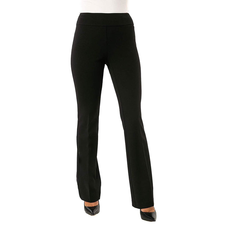 Up! Pants - Black Boot-cut Pants - Pants - 65249-1