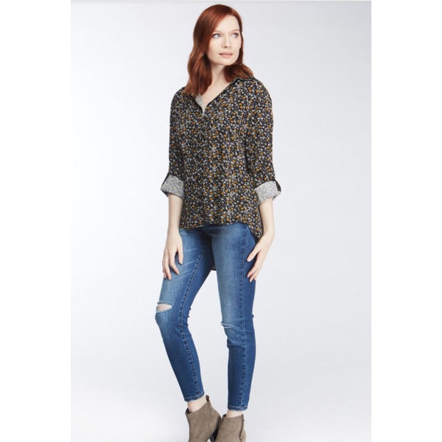 Velvet Heart - Elisa Amber Flower Top - Women - WLA-20619