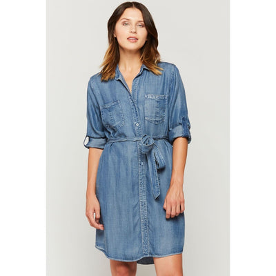 Velvet Heart - Velvet Heart Tencel Shirt Dress - Women - WTT-5935