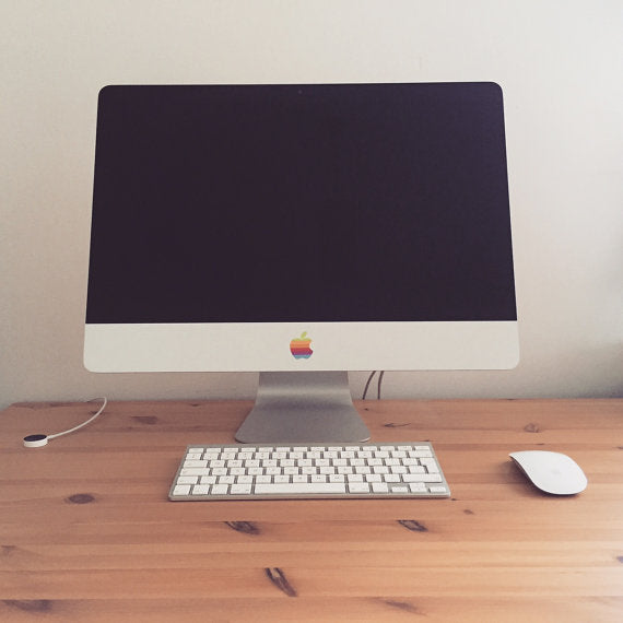 Classic Mac Apple Retro iMac Decal Sticker