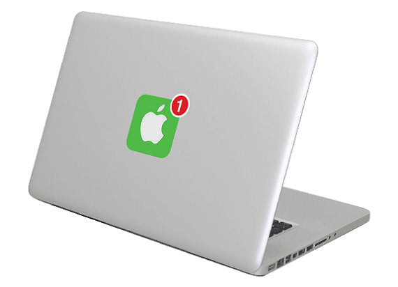 iOS icon MacBook Decal Sticker