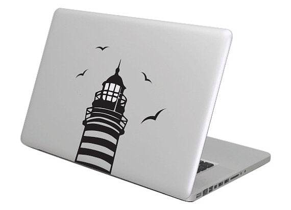 Lighthouse MacBook Decal sticker