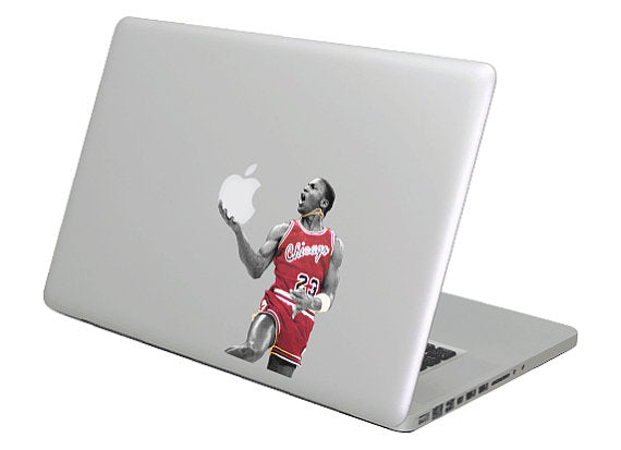 Michael Jordan MacBook Decal Sticker