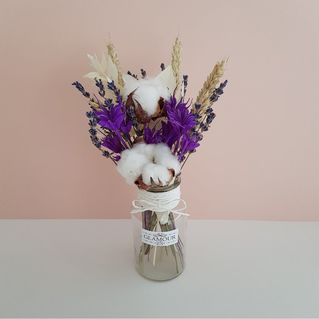 Mini Vase (Purple)