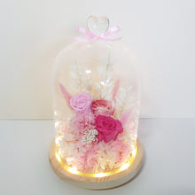 Pink Paradise (warm yellow LED base)