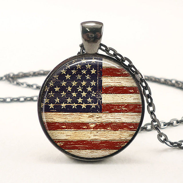 USA Flag Pendant