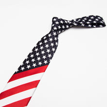 USA Flag Necktie