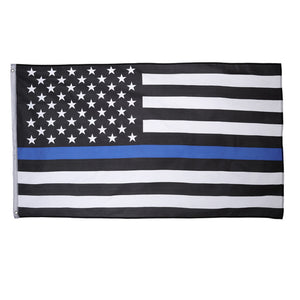 Blue Lives Matter American Flag