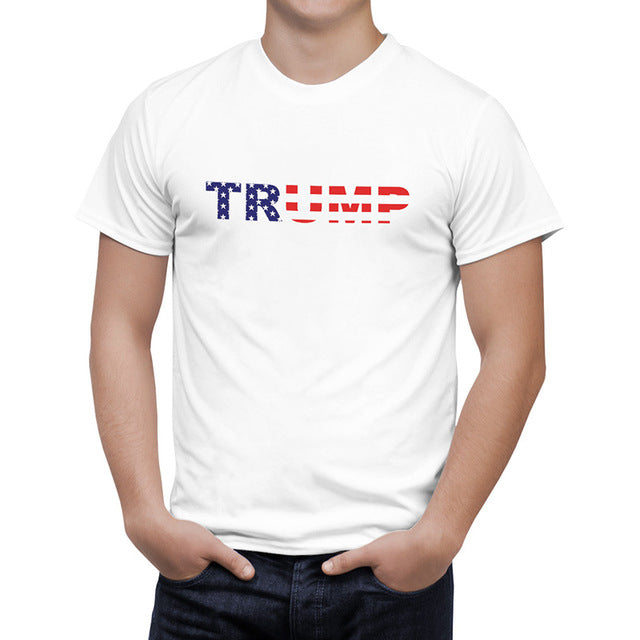 TRUMP American Flag Printed t-shirt