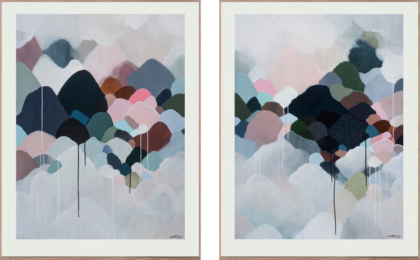 AUTUMNA MONTEM - DIPTYCH - Limited Edition Print on Paper