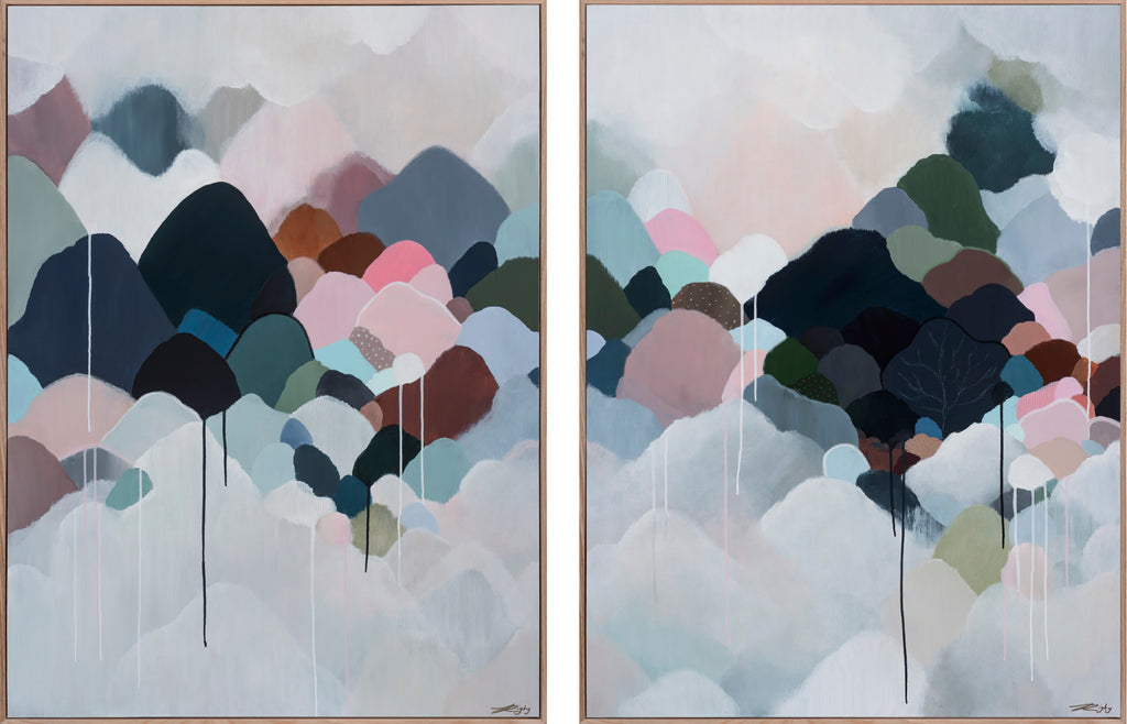 AUTUMNA MONTEM - DIPTYCH - Limited Edition Print on Canvas