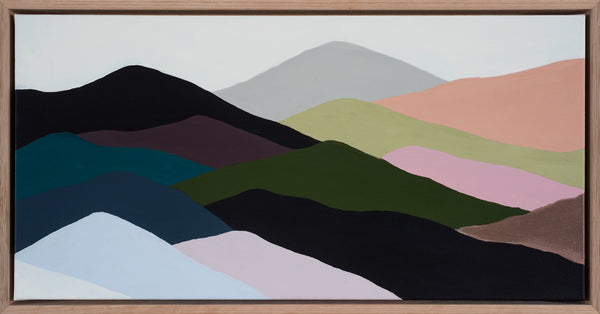 THE RANGES #7 - 64cm x 33.5cm