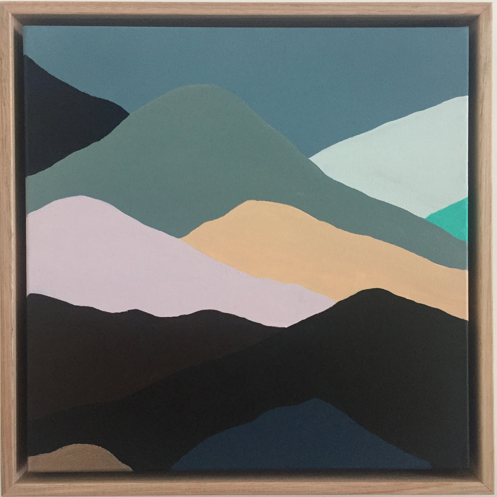 THE RANGES #4  39.5cm x 39.5cm
