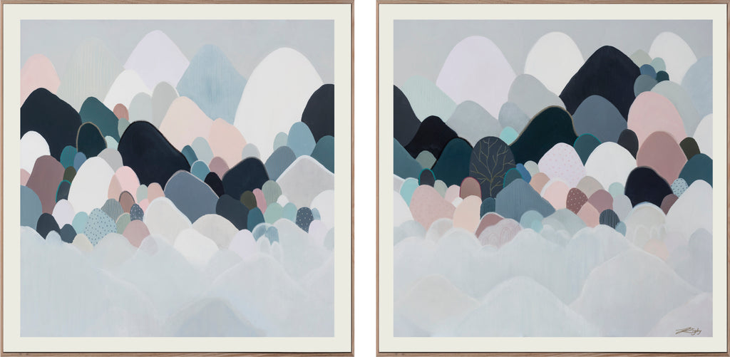 MELIORUM MONTEM DIPTYCH - Open Edition Print on Paper/Diptych (Pair)