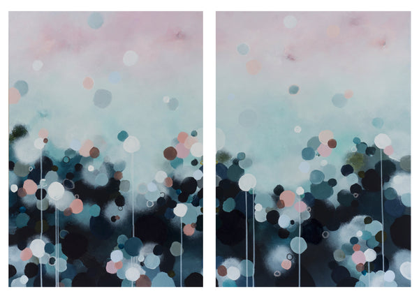 NEBULA HAZE - Limited Edition Print/Diptych (Pair)