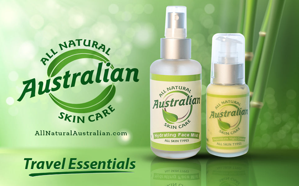 Travel Essentials Hydrating Face Mist & Rejuvenate Night Cream