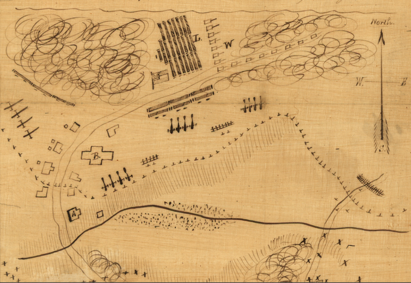 Battle Archives Map Appomattox Court House 9 April 1865 Battle Map