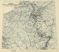 Battle Archives Map Ardennes Counteroffensive (Battle of the Bulge) #3