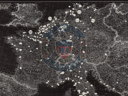 Battle Archives Map Army Air Corps #1-Western and Southern Europe Attacks