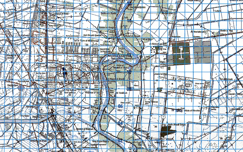 Battle Archives Map Baghdad, Iraq