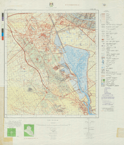 Battle Archives Map Basrah, Iraq