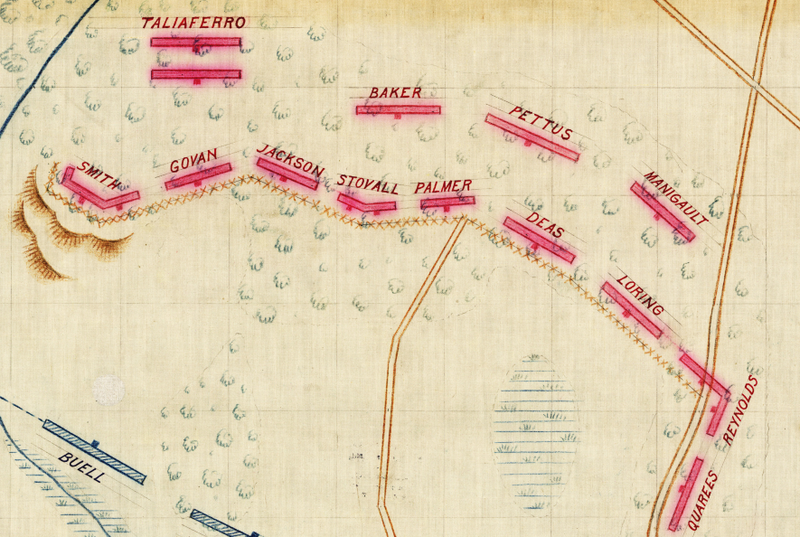 Battle Archives Map Bentonville, North Carolina