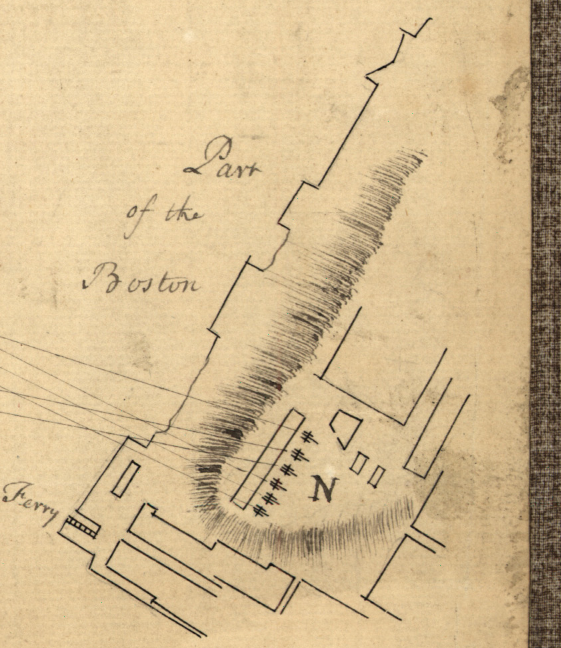 Battle Archives Map Bunker Hill, Massachusetts #5