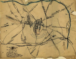 Battle Archives Map Chancellorsville #1