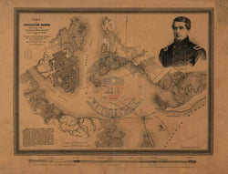 Battle Archives Map Charleston, South Carolina #4