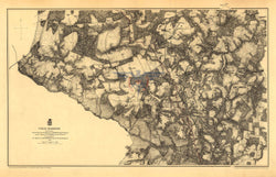 Battle Archives Map Cold Harbor Trench Lines Map
